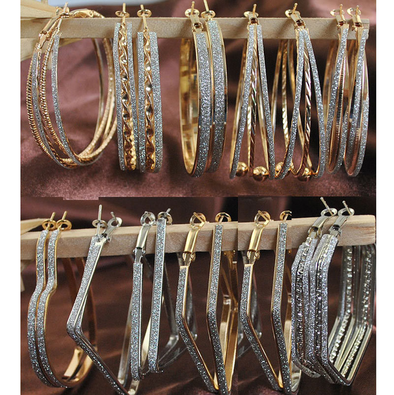 Aliexpresscom  Buy Wholesale Mix Lot Hoop Earrings