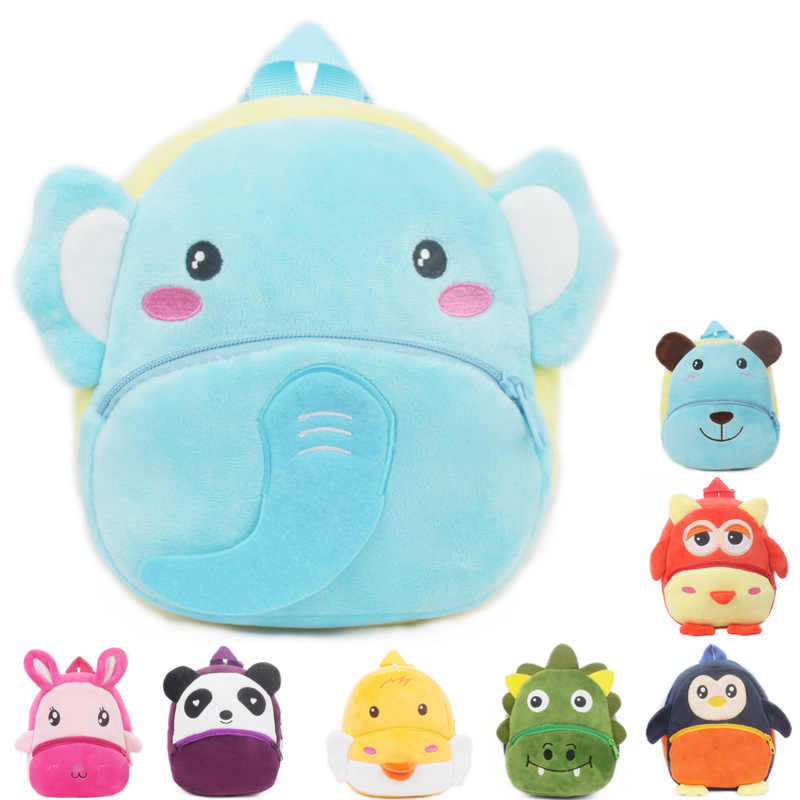 חדש חמוד cartoon ילדי ילקוט תינוק קטיפה תרמיל צעצוע מתנות ילד ילדה סטודנט שקיות יפה סוכריות תיק