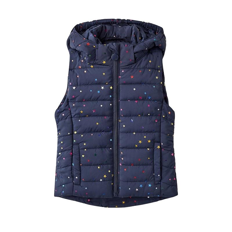 Vests & Waistcoats MODIS M182K00126 for girls kids clothes children clothes TmallFS vests