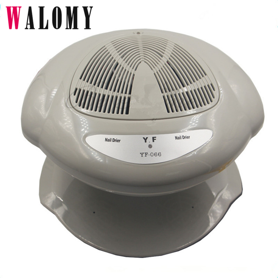 Nail Air Dryer: Nail Polish Auto Sensors Air Dryer Fan Strong Winds Fast