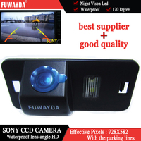 FUWAYDA vendita calda per BMW 1/3/5/6 Serie X3 X5 X6 E39 E53 E82 E88 M3 E46 backup car ccd SONY Car Rear View camera HD