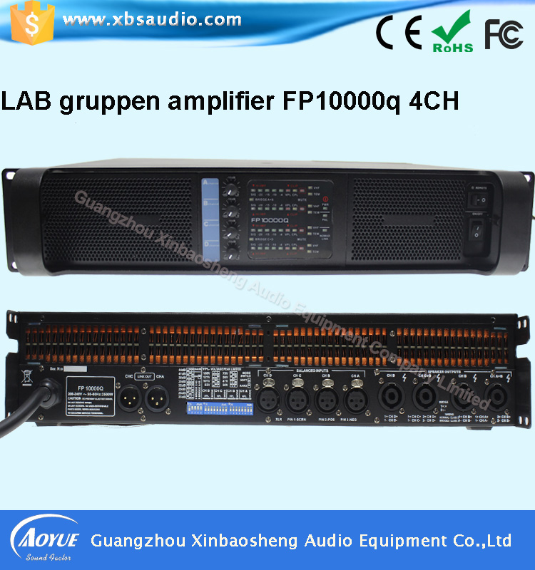 Professional Amplifier Type and 4 Channels lab gruppen DP10000Q