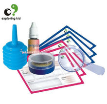 exploring kid creat toy scientific experiment game model Fingerprint Comparison