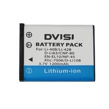 Batterie de caméra pour OLYMPUS 3.7V, 1,2 ah, Li 42B, Li42B, U700, U710, FE230, FE340, FE290, FE360, U1040, X915, VR320, VR330, FE5000