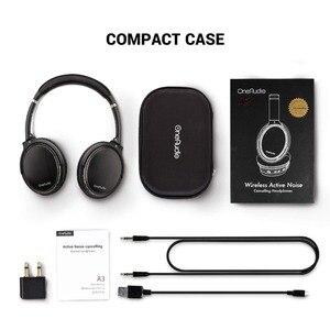 Image 5 - Oneodio Active Noise Cancelling Hoofdtelefoon Bluetooth 4.2 Draadloze Hoofdtelefoon Met Apt X Lage Latency Opvouwbare Headset Voor Pc Tv