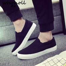Men causal Shoes 2018 New Man Flat Canvas Breathable Fashion Classic black Zapatos De Hombre