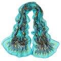 New brand Chiffon Women Scarf Neck Shawls Printing Scarves stole ladies Wrap Echarpes Foulards Femme Warm 2016 Gift 1pcs