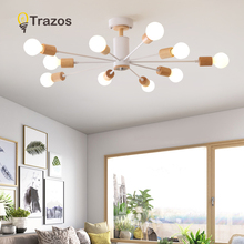 New style pendent Lights Vintage Lamps For Living Room Personality Wrought Iron Luminaria E27 LED bulb Home Lighting Fixtures