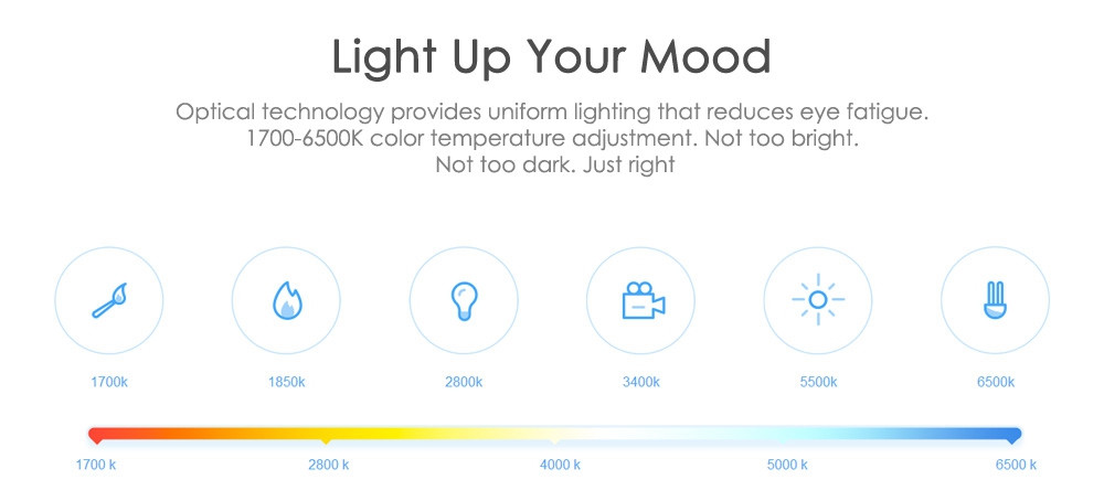 Original Xiaomi Yeelight II Smart LED Bulb E27 9W 600 Lumens Mi Light Smart Phone WiFi Remote Control  3