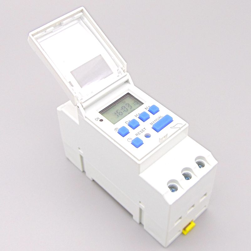 Weekly 7 Days Programmable Digital TIME SWITCH Relay Timer Control AC 220V 230V 110V 24V 12V 16A Din Rail Mount new high quality 16a 220v ac digital lcd weekly programmable timer time relay switch ve505 t0 41