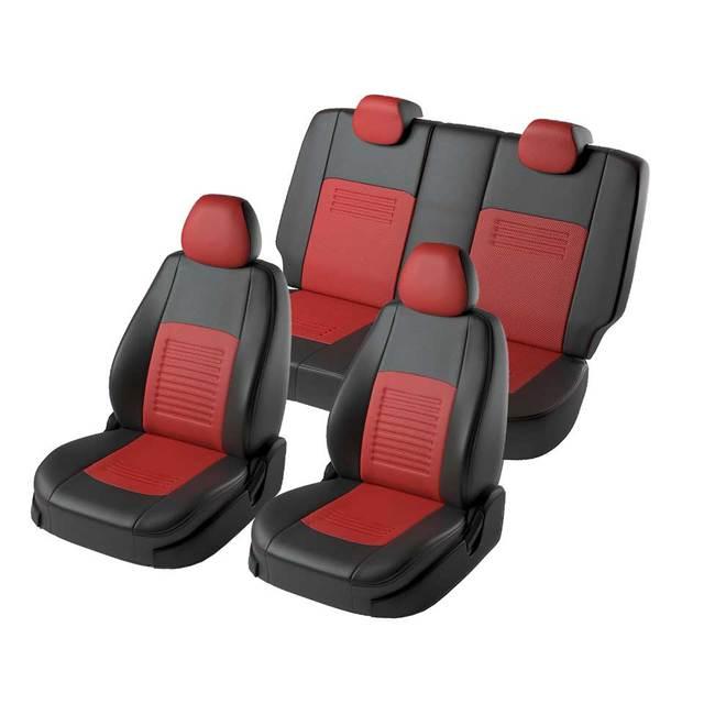 Для Ravon R2 2016-2019 специальные чехлы на сиденья полный набор модель Турин из эко-кожи