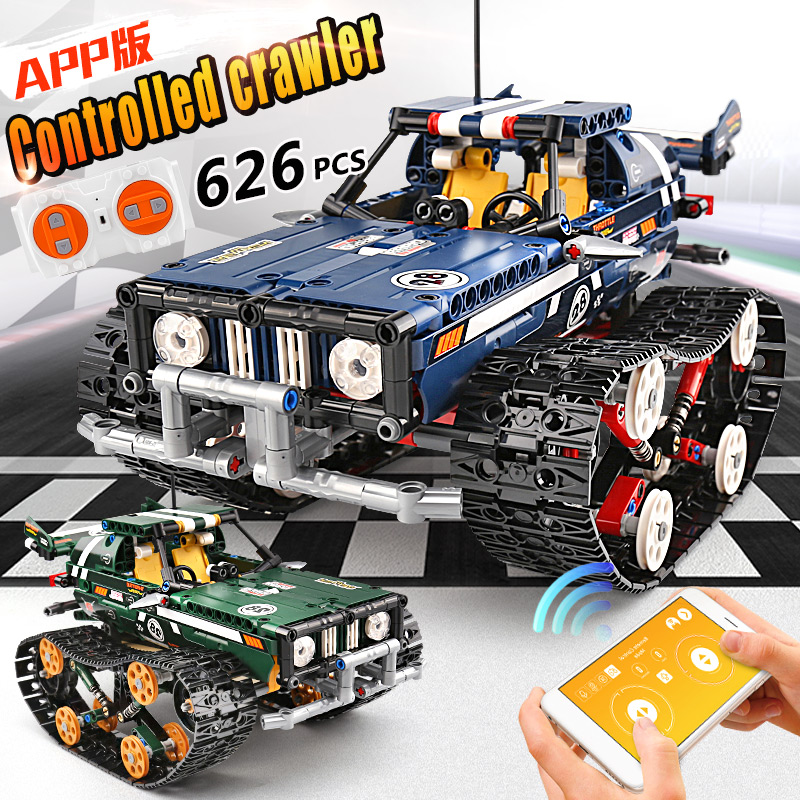 Technic RC Crawler Racing Car Remote Control RC Car Model Building Blocks Set City Lepining 20011 Kids Toys Gift Assemble Bricks