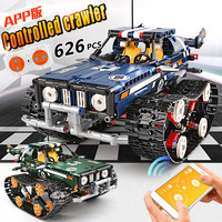 Technic RC Crawler Racing Car Remote Control RC Car Model Building Blocks Set City Technic Car Series 20011 Toys Gift Bricks