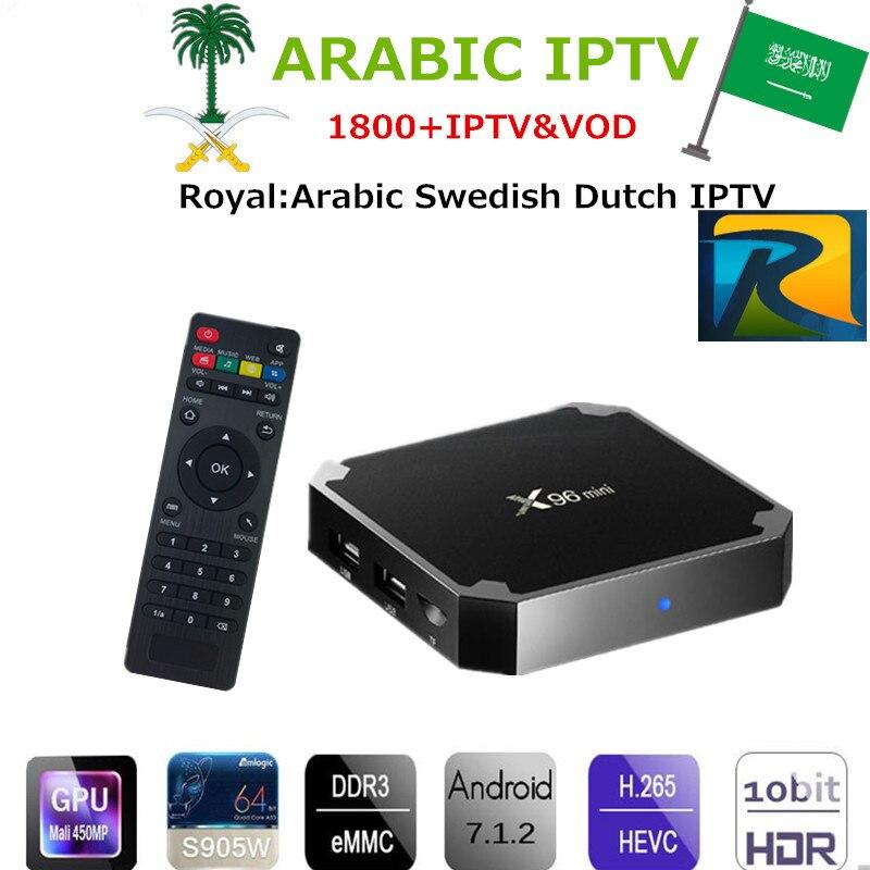 Здесь продается  Andriod TV BOX X96 mini 1/2GB 8/16GB Media Player IPTV   with 1 Year Royal Arabic IPTV 1850+ Europe Albanian African Turkey IPTV  Бытовая электроника