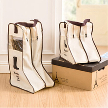 Boots Bag Travel Shoe Home Storage Visible Dust Boot Cover Simple Design