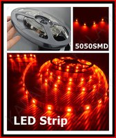 1 Roll 150 5M 30LED M 5050 SMD Waterproof 12V Led Lights LED Strip Light Red