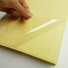 FUNCOLOUR обновления качество 25 мкм толщина A4 пустой прозрачный/прозрачная этикетка наклейка бумаги для лазерного принтера