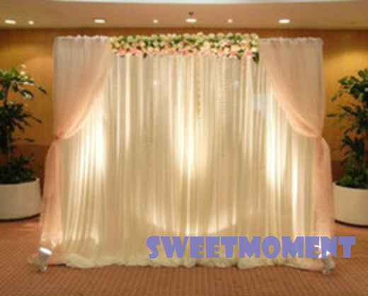 Buy Wedding Drape Pipe For Wedding Decoration Backdrop With Detachable Swag