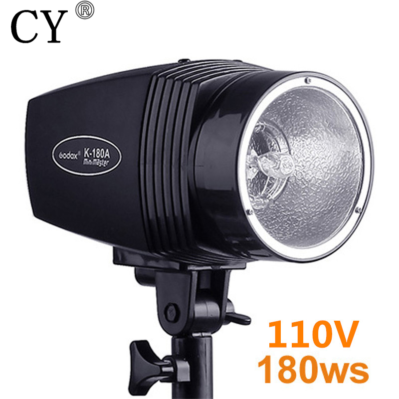 180ws 110V Godox K-180A Photography Studio Strobe Photo Flash Light Photo Studio Mini Strobe Photographic Lighting