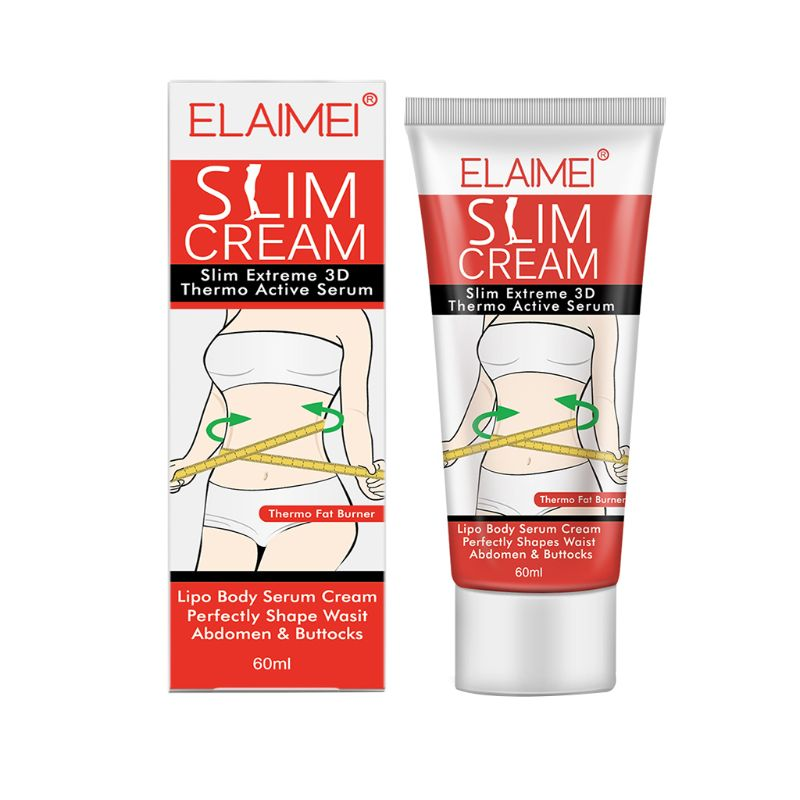 Slimming Cream Weight Loss Hot Burning Heating Fat Leg Thigh Arm Hip Lose Weight Stomach Anti Cellulite Massage Care Tool