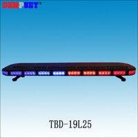 TBD 19L25 High quality LED lightbar,super bright fire/emergency police Strobe light bar,Car roof burst Flashing warning light