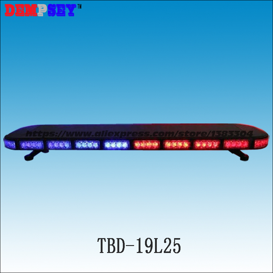 TBD-19L25 High quality LED lightbar,super bright fire/emergency police Strobe light bar,Car roof burst Flashing warning light high power 24 led strobe light fireman flashing police emergency warning fire flash car truck led light bar 12v dc
