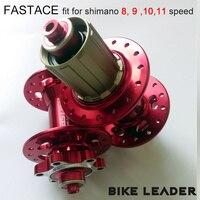 Fastace DA01 Bearing Disc Hubs 32 Holes 4 Bearing MTB Mountain Bike Bicycle Hubs