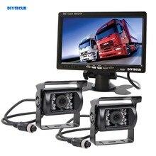 DIYSECUR 12V 24V 4pin IR Night Vision HD Rear View font b Camera b font Kit