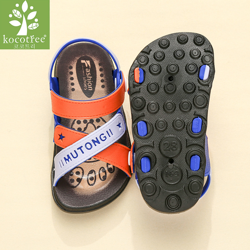 Kocotree Summer Gladiator Sandals Children Fashion Small Boy Casual Sandals Breathable Flats Shoes Kids Girls Summer Sandals