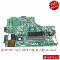 Nokotion laptop motherboard For DELL INSPIRON 2421 3421 5421 CN 0PTNPF 1017U 12204 1 DNE40 CR PWB:5J8Y4 REV:A00 Tested