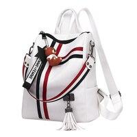Сумки для женщин Ретро мода молния женский рюкзак из искусственной кожи школьная сумка на плечо для Молодежные сумки