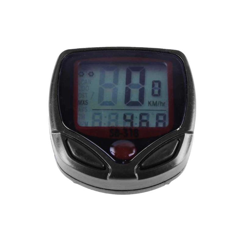 Cycling Bicycle Speedometer Waterproof LCD Display Digital Meter Odometer Speedometer Wired Bike Computer Bicycle Accessories