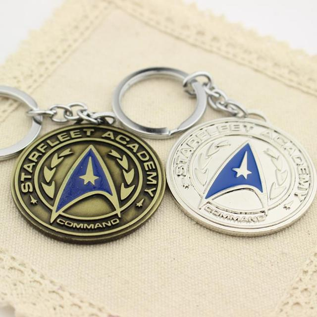 Star Trek Shield Metal Keychain & Pendant Chaveiro