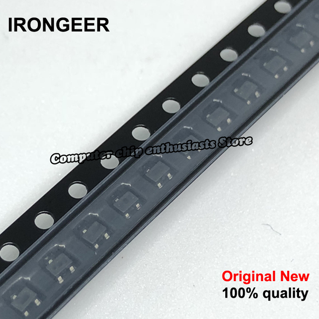 100 PCS Transistor 2N2222 1 P SOT23 2N2222A SOT 23 SMD neue und original IC-in Schaltungen aus Verbraucherelektronik bei