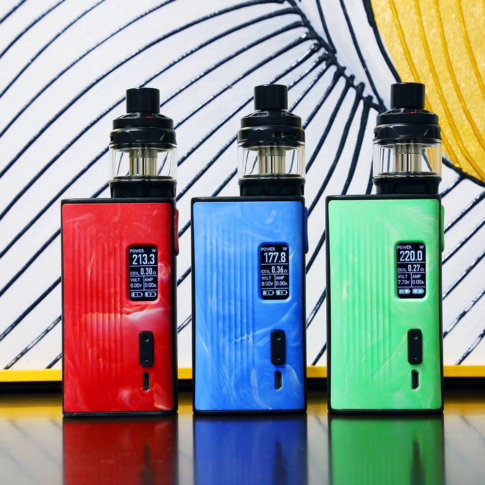 Joyetech ESPION Tour Original avec CUBIS Max Kit 5 ml capacité de sortie du réservoir 220 puissance en watts NCFilm TM chauffage Cigarette électronique
