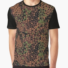 4c6e3bf0d0d11 All Over Print T-Shirt Men Funy tshirt Pea dot camo Short Sleeve O-Neck  Graphic