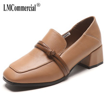 single shoes square head for women spring retro shoes women lazy shoes women shoes high heel italian with matching bags new fashion italian shoes with matching bags for party african shoes and bag set good quality shoes for lady emf7213 5