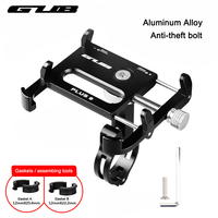 GUB Metal CNC Bike Bicycle Universal Cell Phone Holder Motorcycle Handlebar Mount Handle Phone Support For