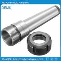 Husillo de alta precisión MTB3/MTB4/MT3/MT4/ER25/ER32/ER40 portabrocas con fresadora de carro CNC extensión 1 Uds rosca trasera