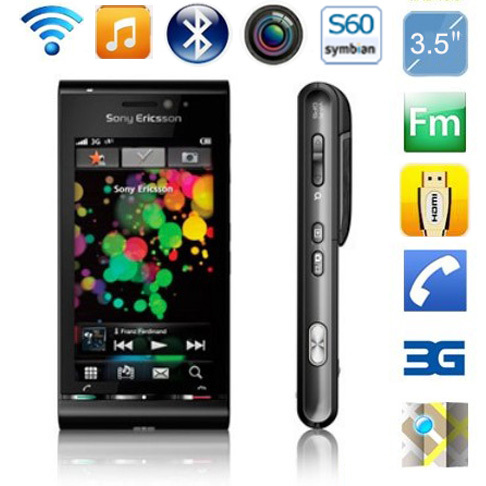 Sony Ericsson U1 GSM/WCDMA Refurbished Mobile-Phone Original Touchscreen Unlocked 3G