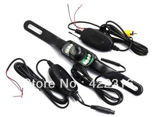 Wireless Car Rear View Reversing 6-LED IR Night Vision Camera