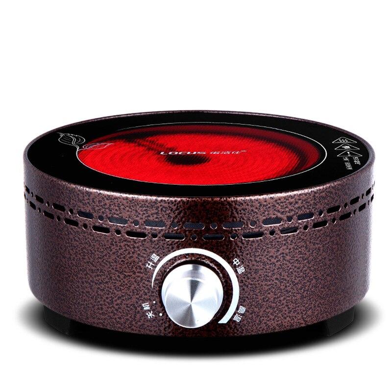 AC220 240V 50 60 Гц Мини электрическая керамическая плита для кипения чая, подогрева кофе, 800 Вт, электрическая плита, чайник, нагреватель - 3