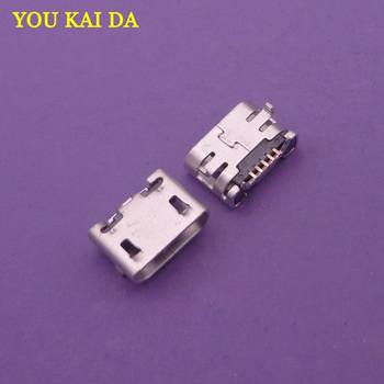 1pcs new 5pin For ZTE Nubia NX505J Z7 Max micro mini USB jack socket connector Charging Port replacement repair parts dock plug image