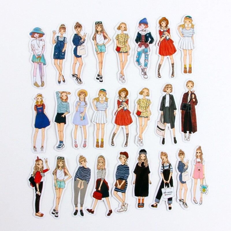 mooie Stickers kawaii cartoon sticker PVC Plakboek handboek dagboek - Klassiek speelgoed - Foto 3