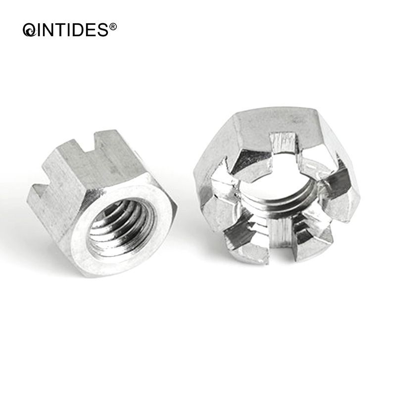 BSF BSW Castle Nuts A2 Stainless Steel 10PCS Various Sizes