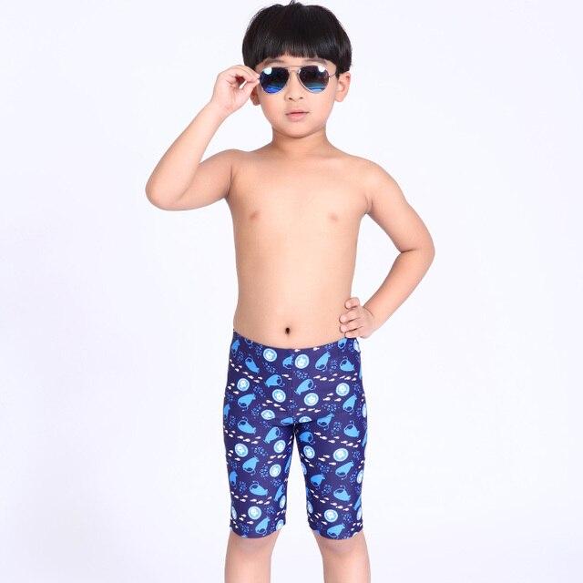 Compras libres los troncos de natación niños traje de baño briefs imprimir  verano niños traje de b1a04c146a6
