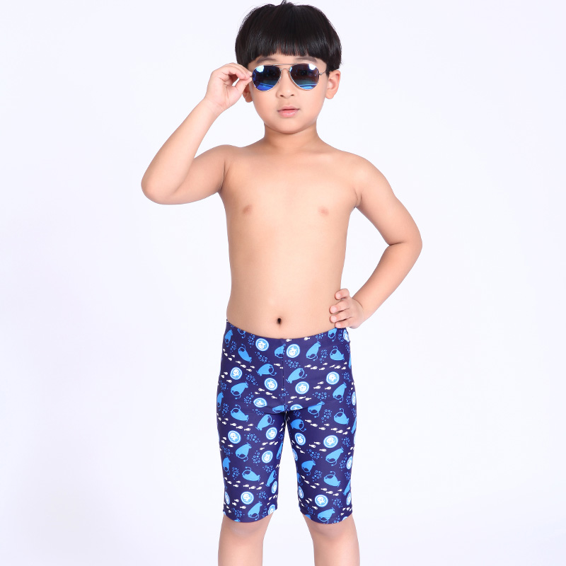Kids Boys Swim Trunks Swimwear Beach Swimming Boxers Swimsuit Flag Printing