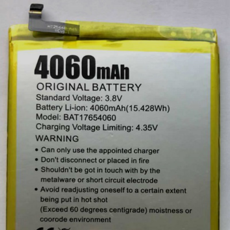 Mobile Phone Batteries 4060mah Battery For Doogee Mix 2/mix2/bat17654060 Good Companions For Children As Well As Adults Cellphones & Telecommunications