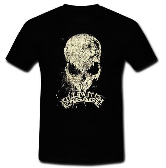 KILLSWITCH ENGAGE AMERICAN METALCORE BAND BIOWAR T-SHIRT S M L XL 2XL Printed Men T-Shirt Short Sleeve Funny Tee Shirts 2018 top image