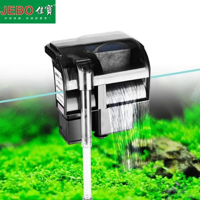 JEBO Aquarium Filter External Hang Up Filter Water Pumps ...